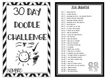 Art - 30 day doodle challenge