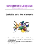 Art: 5 sub-lessons for NON art gifted subs