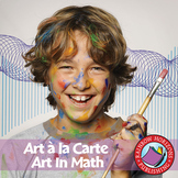 Art A La Carte: Art In Math Gr. 4-7