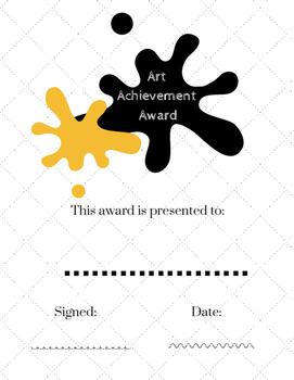 Art Achievement Award