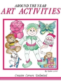 Art Activities Around the Year by Nadine Lovell