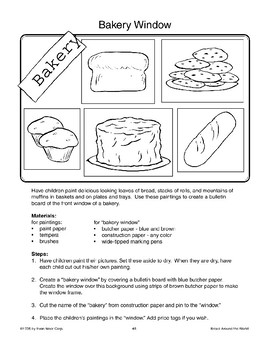 Art Activities About Bread
