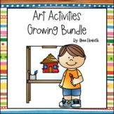 Art Activities Growing Bundle