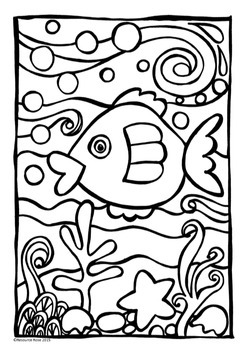 Art Activities/Coloring in - Sea Theme