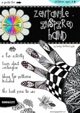 Art Activities - Zentangle-inspired Hand