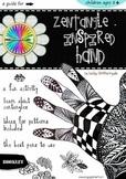 Art Activities - Zentangle-inspired Hand