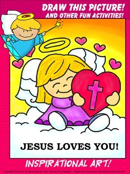 Art Activity Packet - Jesus Loves You!