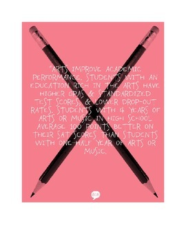 Art Advocacy Printables