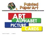 Art Alphabet Picture Cards
