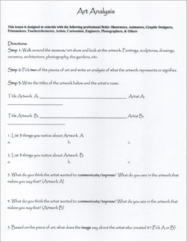 Art Analysis Questions