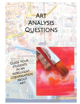 Art Analysis Questions in Spanish