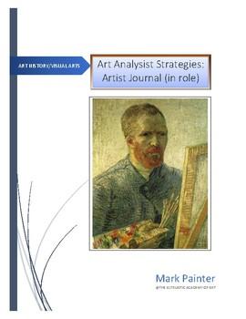Art Analysis Strategies: Artist's Journal (in role)