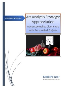 Art Analysis Strategy: Appropriation Classic Art with Pers