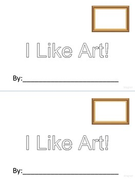 Art Appreciation Student Writing Template