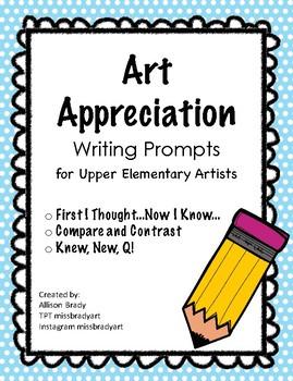 Art Appreciation Writing Prompts