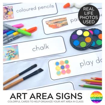 Art Area Signs