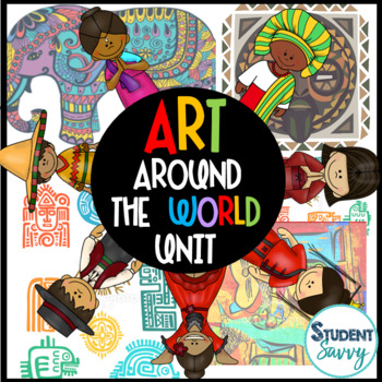 Art Around the World Common Core Aligned