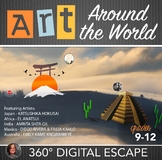 Art Around the World Digital Escape Room - Famous Artists