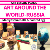 Art Around the World - Russia - Art Lesson Plan