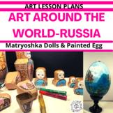 Art Around the World - Russia - Art Lesson Plan