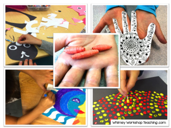 Art Around the World - Whimsy Workshop Teaching