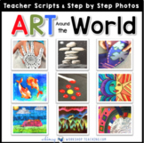 Art Around the World Bundle of 18 Art Projects Writing Act