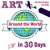 Art Around the World in 30 Days eBook
