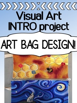 Art - Intro project for high school - Art Bag Assignment
