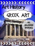 Art History - Greek Art Powerpoint