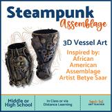 Art Assemblage 3d Vessel
