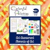 Art Assessment - Elements of Art
