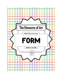 Art Assessment: FORM Multiple Choice Test, The Elements of Art