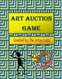 Art Auction Game-Math Skills Integrated
