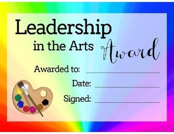 Bundle of Art Award Certificates