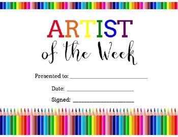 Bundle of Art Awards - Certificates