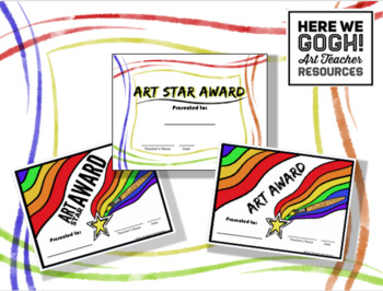 Art Awards!