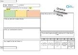Art Awards Evaluation form