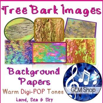 Art: Background Papers, Photos, Digital Clip Art, Trees, Tree Bark