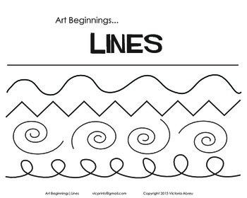 Art Beginnings... Lines Bundle