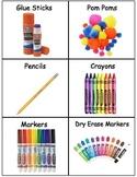 Art Bin Labels