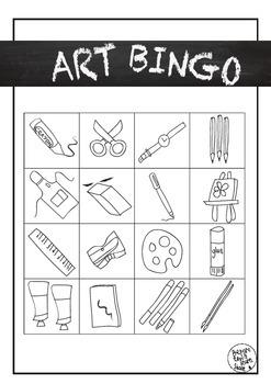Art Bingo