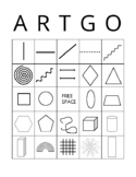 Art Bingo ARTGO Line and Shape