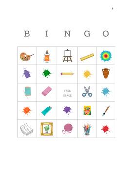 Art Bingo Cards!