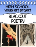Art - Intro Assignment - Blackout Poetry - First week / last week