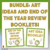 Art Booklets for the Beginning and End of the Year