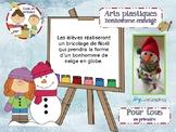 Art- Brico bonhomme de neige