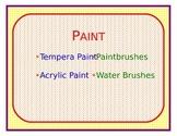 Art Cabinet Supply List 4