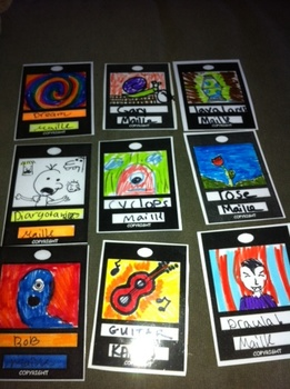 Art Cards/Trading Cards