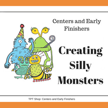Art Center - Creating Silly Monsters