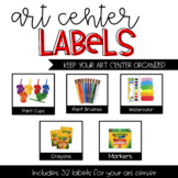 Art Center Labels